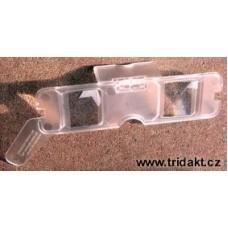 plastové stereo brýle